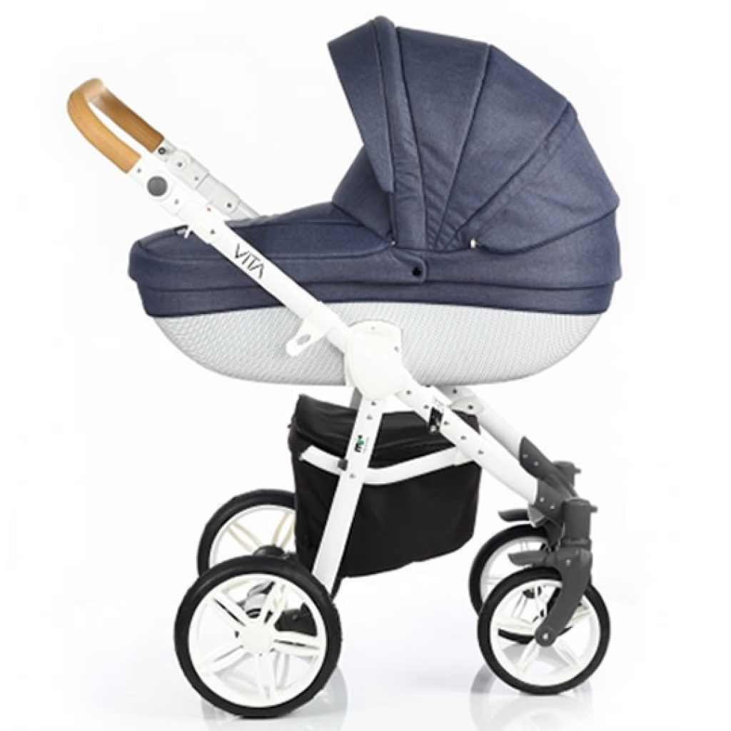 Passeggino duo e trio My Junior Vita denim
