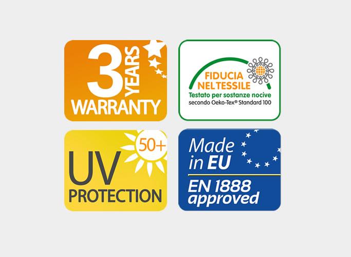 Certificazioni e garanzia